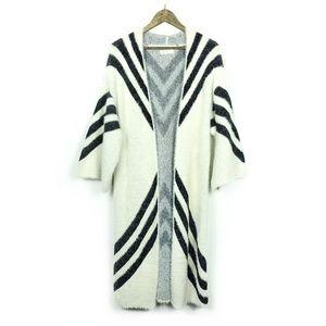 Sleeping On Snow Mod Chevron Kimono Cardigan Top